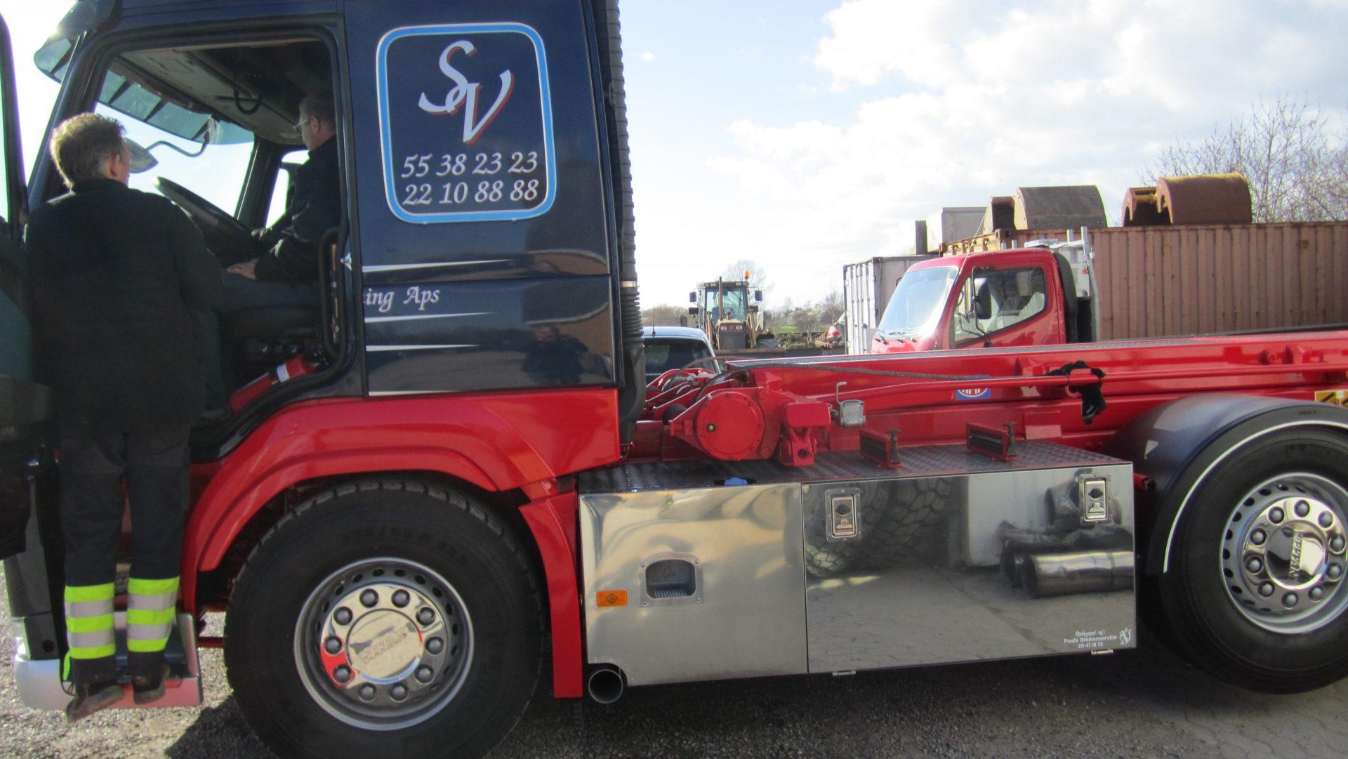 Vognmandsforretning Sallerup lastvogn